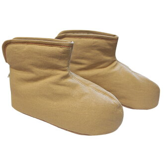 Little paper /SASAWASHI / room boots M (yellow)