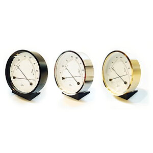 BARIGO / 温湿計(ブラック915/シルバー915.1/ゴールド916)シンプル シンプルな時計新生活 一人暮らし 入学祝い
