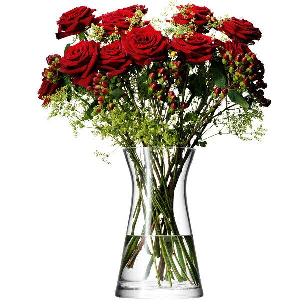 LSA / FLOWER MIxed Bouquet VASE clearLFW08 フラワー ベース(W17×D17×H29m)箱入り【楽ギフ_包装】【楽ギフ_のし】【楽ギフ_のし宛書】