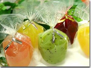 【スペールフルッタのフレッシュフルーツゼリー】フルッタジュレ5個詰め合わせぷるぷるフルーツゼリー5種×各1個