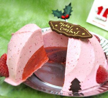 【今年も登場】あまおうのクリスマスケーキ今年のクリスマスはスペフルのアイスケーキ!【送料無料でお届けします。】