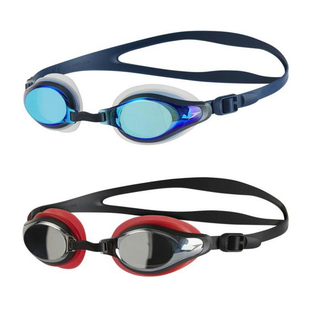 Speedo(スピード)水泳水球競技ゴーグル・サングラスMariner Supreme マリナースプリームミラーSD98G17N*BLK*RE