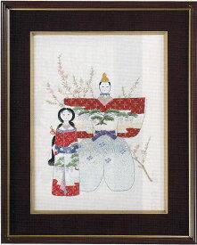 東京文化刺繍キット No153雛人形(3号)