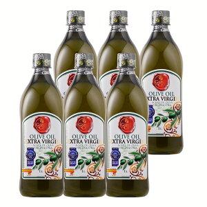 【ポイント5倍*15日限定】【6本】ガルシア エクストラバージンオリーブオイル ペット 1000ml スペイン産 送料無料 オリーブオイル オリーブ油 エクストラバージン 大容量 フレッシュ Olive Oil