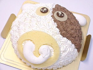 モーモー牛さんのケーキ