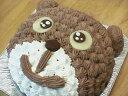 【誕生日ケーキバースデーケーキならこれ!】5号サイズ くまちゃんキャラクター直径15cm4〜6名分
