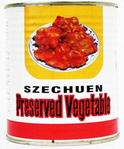 京浜貿易 業務用 四川搾菜 ザーサイ塩漬缶詰 1kg