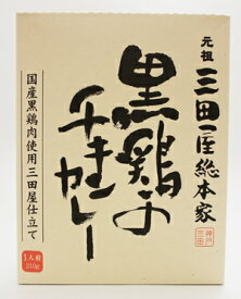 元祖三田屋総本家 黒鶏のチキンカレー210g×10個(1ケース)