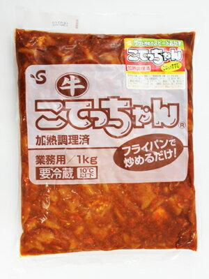 《冷蔵》 伊藤ハム 牛こてっちゃん (加熱調理済) 1kg×4袋