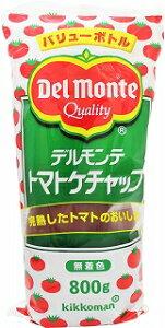 デルモンテ トマトケチャップ バリューボトル 800g 12個
