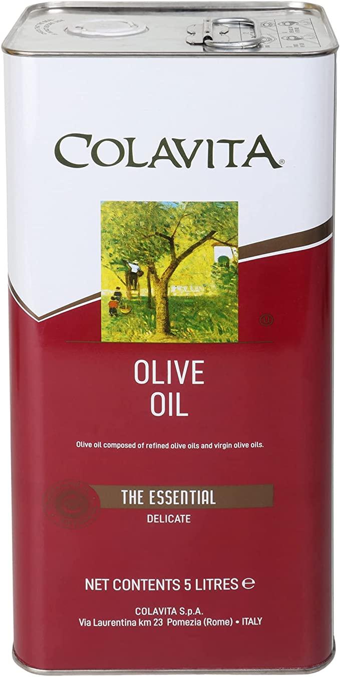 コラビータ ピュアオリーブオイル 4580g 5L缶