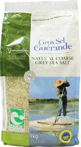 サリーヌ ドゥ ゲランド セルグロナチュールエプログレ 1kg 粗塩 /グレー