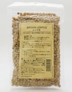 マスコットフーズ ブラウンレンティル レンズ豆 200g×6袋(1ケース)