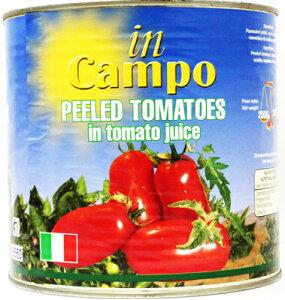 インカンポ 業務用ホールトマト缶 2500g