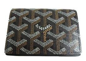 ≪新品≫ 正規品 GOYARD ゴヤールカード・名刺ケース マルゼルブ 黒 ブラック 箱・リボンのラッピング