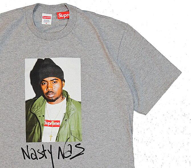 ≪新品≫ 17FW Supreme NAS Tee GREY Lサイズ シュプリーム Tシャツ
