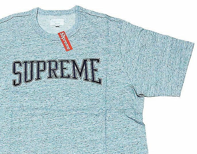≪新品≫ 17FW SUPREME Dotted Arc Top GREY Mサイズ シュプリーム Tシャツ