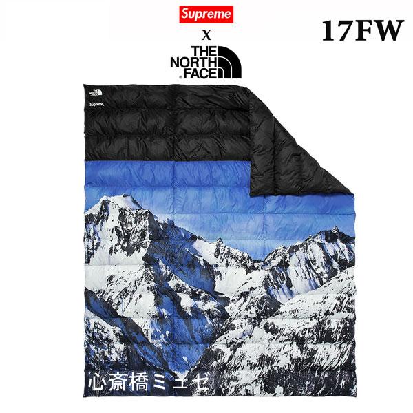 ≪新品≫ 17FWコラボ SUPREME THE NORTH FACE Mountain Nuptse Blanket シュプリーム ノースフェイス コラボ ブランケット