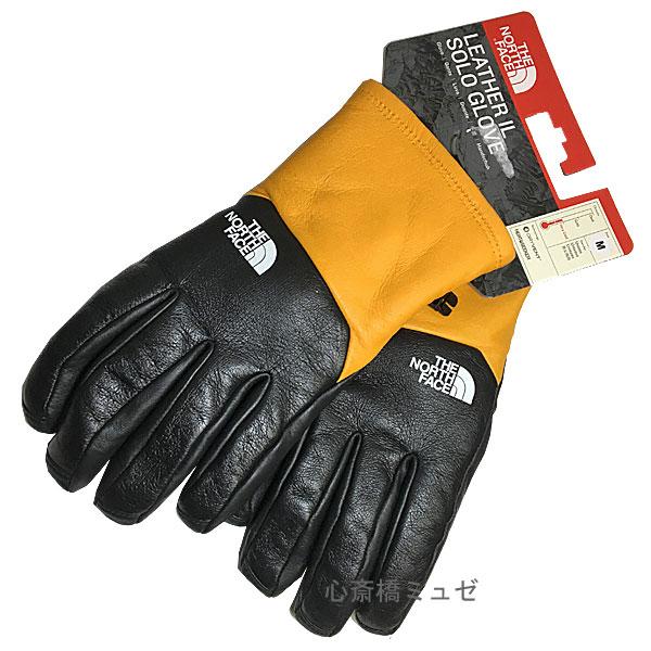 ≪新品≫ 17AW Supreme / The North Face Leather Gloves Yellow Msize シュープリーム ノースフェイス レザー グローブ 黄色 Mサイズ