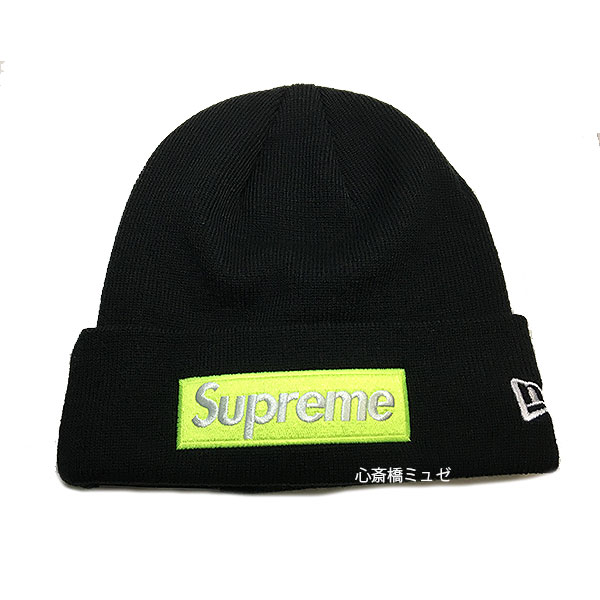 ≪新品≫ Supreme 17FW Supreme New Era Box Logo Beanie Black シュプリーム ニュエラ ニット帽
