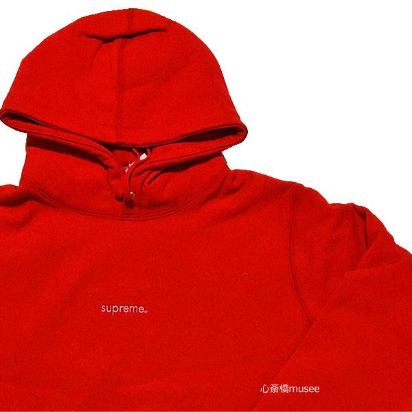 ≪新品≫ 18AW SUPREME Trademark Hooded Sweatshirts RED Mサイズ スウェット 赤 シュプリーム フーディ パーカ