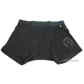 正規品 新品 CHROMEHEARTS クロムハーツ SHORT BOXER ショート ボクサー パンツ 黒 L BLACK ブラック 箱 ショッパー プレゼント