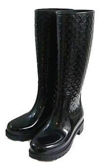 38 858042 Louis Vuitton rain boots splashing black black article number fs04gm