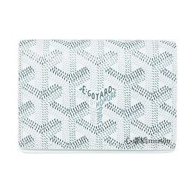 ≪新品≫ 正規品 ゴヤール 名刺・カードケース マルゼルブ 白 ホワイト 箱・リボンのラッピング