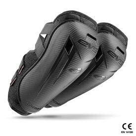 RSタイチ EVS オプションエルボーガード ブラック ADULT [EVV031]