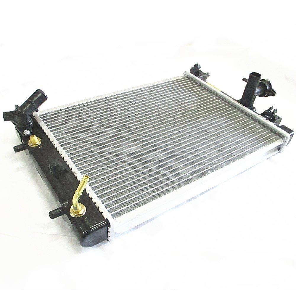 DAIHATSU ダイハツ ムーブ(L175S L185S) ムーブコンテ(L575S L585S) ミラ(L275S L285S L275V L285V) ミラ ココア(L675S) ミライース(LA300S) オプティ(L300) AT用 ラジエーター(コアサイズ:約400mmx298mmx26mm) ラジエーターキャップ付 16400-B2200(16400B2200)