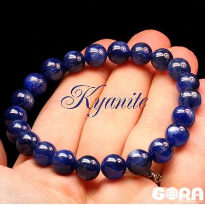 楽天ランキング1位★SAカイヤナイト 8mm  一連ブレスレット パワーストーン 天然石 ◆