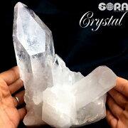 【限定1点モノ】高品質水晶クラスターアーカンソー産天然石パワーストーン●g
