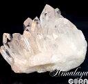 【限定1点モノ】クラスター・原石 高い透明度、素晴らしい形状、ボリューム ヒマラヤ水晶(ガネーシュヒマール産)…