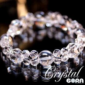 店長の気まぐれシリーズ〜Crystal Diva〜 AAAAA水晶(ブラジル産)   ブレスレット 天然石 パワーストーン