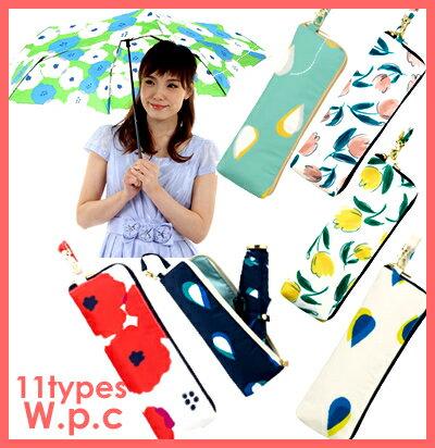 【メール便 送料無料】日傘 晴雨兼用 折りたたみ傘 『w.p.c』mini 2018 雨傘 日傘 軽量 wpc 晴雨兼用 レディース かわいい