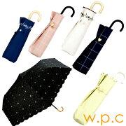 折りたたみ傘日傘折りたたみwpc2018遮光ハートmini軽量w.p.c晴雨兼用日傘wpc【PS】