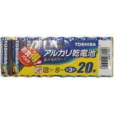 東芝アルカリ乾電池単3形20本パックLR6L20MP