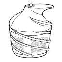 シャープ ジュースプレッソEJ-CP10B用スクリュー(2182920002)