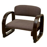 サカベ_ラクラク座椅子座面ファブリックブラウンCX-F01BR/花柄CX-F01FL/グレーCX-F01GR
