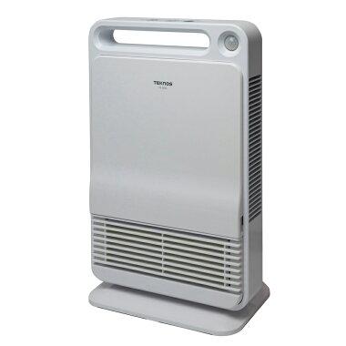 TEKNOS_人感センサー搭載セラミックファンヒーターTS-800(800W/400W切替式・消臭フィルター)
