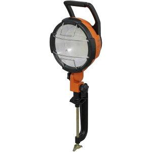 《工事現場や天井・床下などの作業、ガレージなど、エクステリア照明に最適》アイリスオーヤマ 5500lm(500W相当)クランプ式LED投光器LWT-5500C