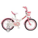 Royalbaby16インチキッズバイクRB-WE_JENNY_16補助輪付きピンク