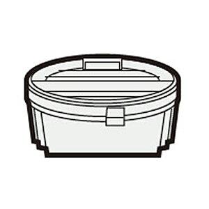 シャープ 掃除機用高性能プリーツフィルター(217 337 0543)【対応機種】EC-A2XE6-W EC-AH2R-N EC-AR2S-P EC-AR2S-V EC-AR2SX-N EC-AR2SX-P EC-AR3S-P EC-AR3SX-N EC-AR3SX-P