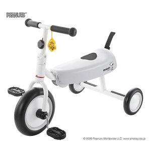 《成長に合わせて自由に座れるロングシート採用》ides D-bike dax SNOOPY