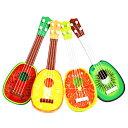 送料無料 ! お子様も遊べる♪ ミニサイズギター かわいいフルーツデザイン☆ スイカ・オレンジ・パイナップル・キウイ…