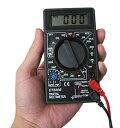 送料無料 ( メール便 ) 超小型テスター 見やすいデジタル表示 高精度マルチメーター 軽量 コンパクト 電圧/電流/抵…
