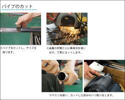 アルミ角パイプ20×20mm[151cm〜200cm]1cm単位切り売り切売パイプカット無料【KNT-KP2020-200】