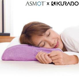 快眠 健康 いびき防止 枕 肩こり 首こり 日本製 低反発 横寝 横向き 枕カバー 美容と健康低反発枕《スリープマージピロー》