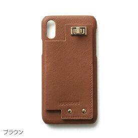 2/15 +10倍♪【5%還元】いよいよ入荷♪即納可能【Hashibami ハシバミ】カウンター アイフォンケース カード入れ付/ブラウン/iphone X/XS ※詳細は別カラー【メール便で送料無料】