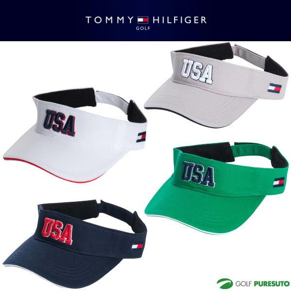 【即納!】トミー ヒルフィガー ゴルフ USAバイザー メンズ THMB804F 【あす楽対応】